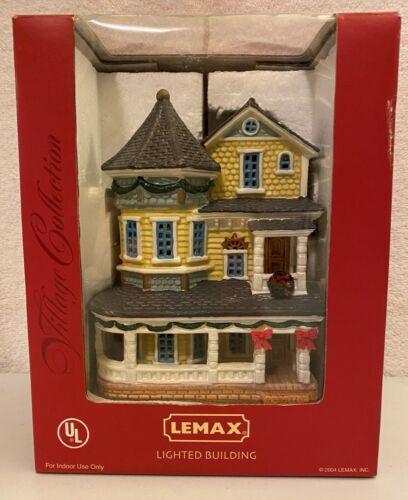 Lemax 2004 Christmas Village Madsen Manor Lighted Building 45057