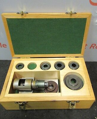 Boring Brown Sharp Bar Micrometer Fixture Set Bore Gauge L51-180