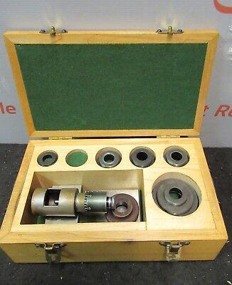 Boring Brown Sharp Bar Micrometer Fixture Set Bore Gauge L51-180