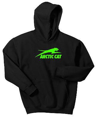ARCTIC CAT HOODIE SWEAT SHIRT ATV SLED UTV WILDCAT SNOWMOBILE (Cat Sled)