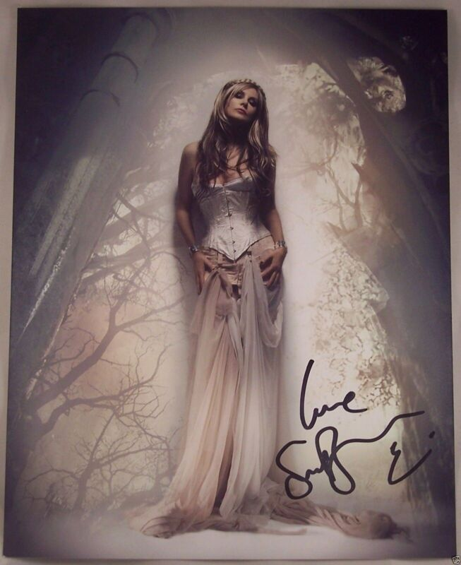 Sarah Brightman Signed Autographed Symphony Dress 8 X 10 Original Photo MINT!