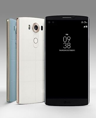 "LG V10 H900 (AT&T Unlocked) 64GB 4G LTE 5.7"" 16MP GSM Smartphone Very Good"
