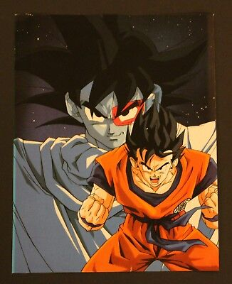 1993 Dragon Ball DOUBLE-SIDED MINI-POSTER (2 posters in 1) #018 Spanish vintage - Posters In Spanish