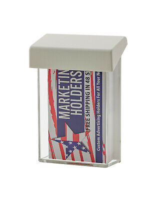 Outdoor Business Card Holder Advert Vertical Store Front Sign Or Vehicle