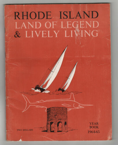1964 RHODE ISLAND Yearbook ILLUSTRATED Rocky Point Amusement Park RI History