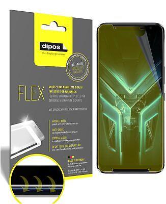 3x Asus ROG Phone 3 Schutzfolie Folie, 100% Displayabdeckung, dipos Flex