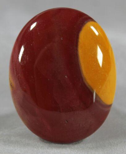 Mookaite Jasper 46x36x16mm / 40g Large Oval Cabochon / Small Palm Stone (102)