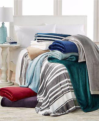 Berkshire Bedding Classic Velvety Plush Twin Blanket 60