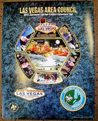 LAS VEGAS COUNCIL 2013 JAMBOREE 312 7-PATCH PAWN STARS 2017 NUMBERED 69 OF 100