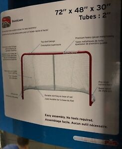 new in the box deluxe street hockey goal