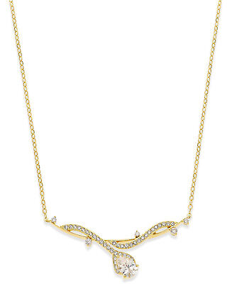 $55 Eliot Danori by Nadri 18k Gold Plated Crystal Pavé Collar Necklace NEW for sale  Minneapolis