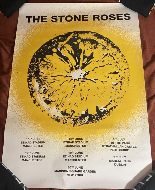 """The Stone Roses Poster 24""""x36"""""""