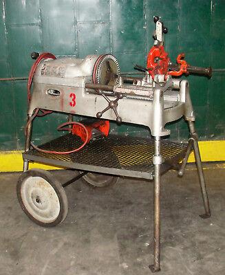 Ridgid Pipe Threading Machine Model 535-used