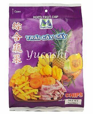 MINH PHAT FOOD Mixed Vegetable Fruit Chip Crisps (Jackfruit, Banana, -
