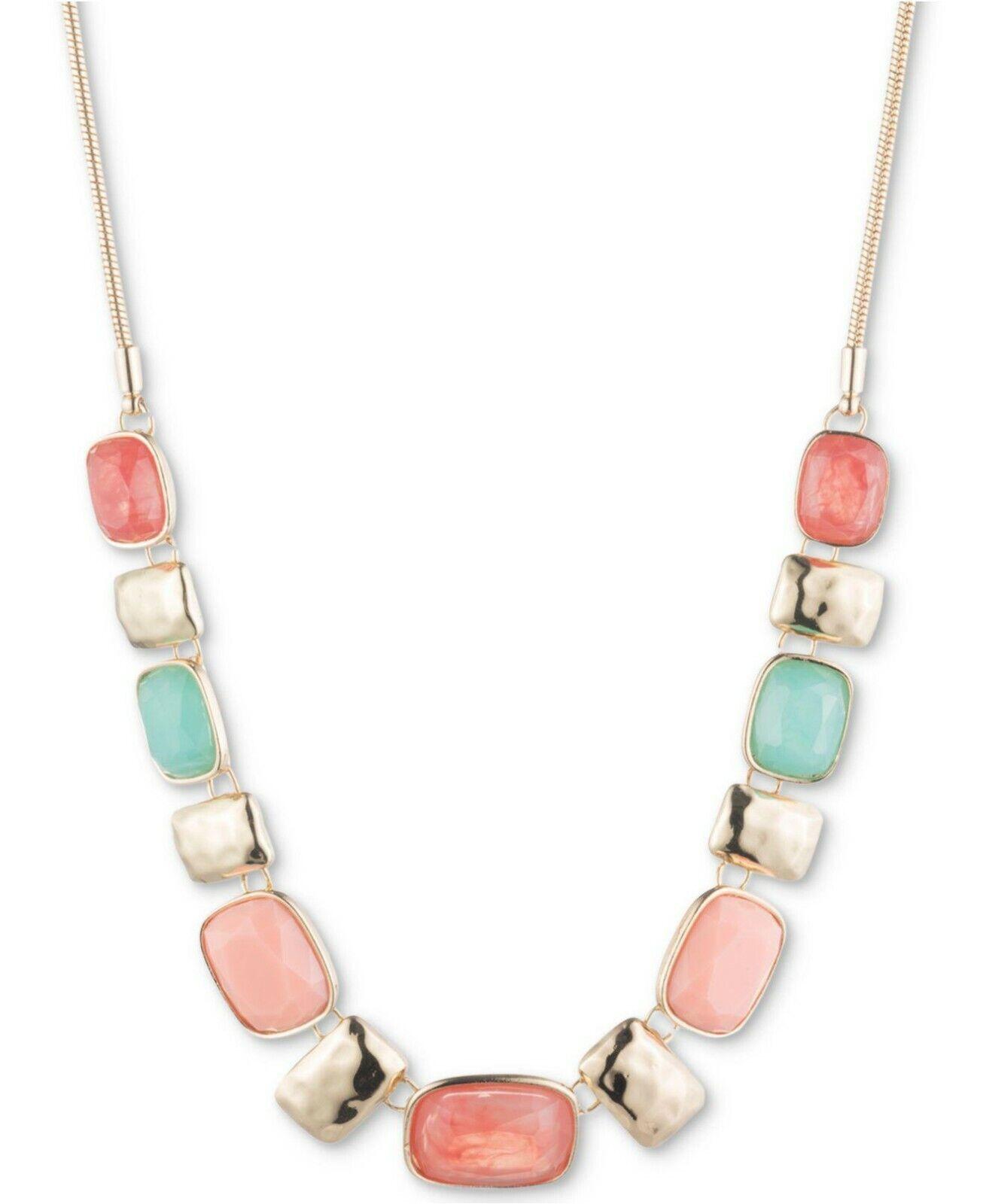 women s multi stone statement necklace 16