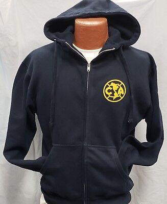 f8bf4132ffe Club deportivo Aguilas del America Generic Zip Up Hoodie XXLarge.