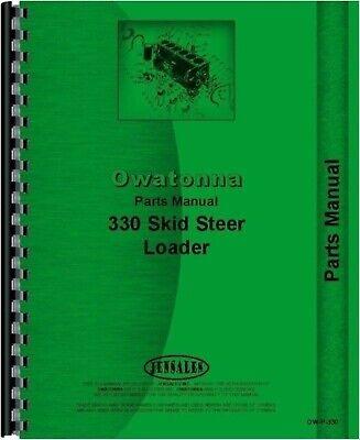 Omc Owatonna 330 Skid Steer Loader Parts Manual Catalog