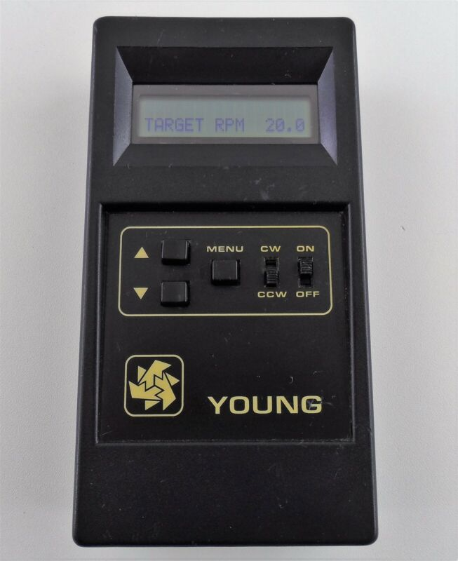 Young Model 18802 Selectable Speed Calibration Unit with Drive Assembly Used