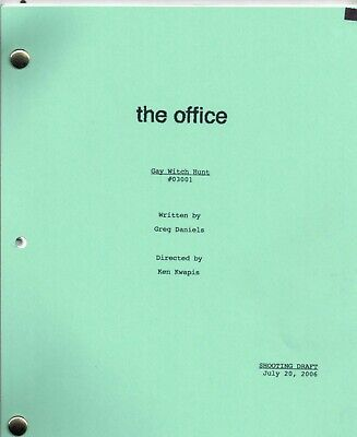 THE OFFICE Show Script