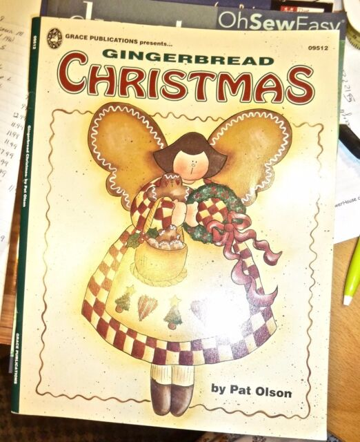 Gingerbread Christmas By Pat Olson Tole Painting Designs Grace Publications
