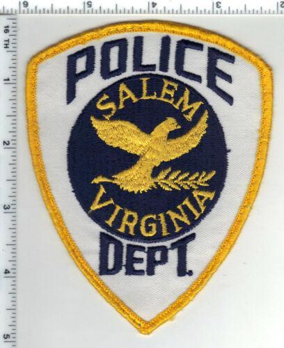 Salem Police (Virginia) 2nd Issue Uniform Take-Off Shoulder Patch