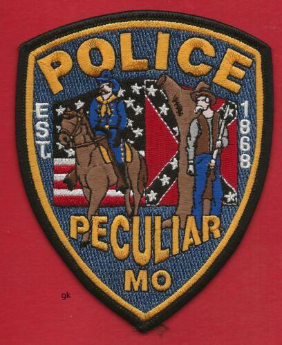 PECULIAR MISSOURI POLICE SHOULDER PATCH