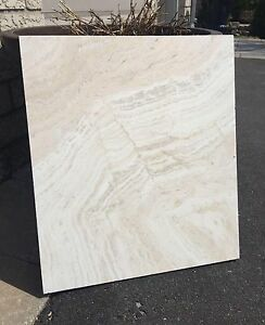 TRAVERTINE TILE, MARBLE, GLASS, TUMBLED MARBLE