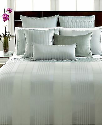 Hotel Collection Bedding Classic Stripe Standard Sham Frost Green -