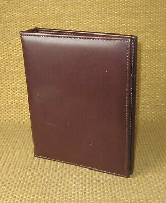 Classic Franklin Coveyquest Burgundy Sim. Leather 1 Ring Open Plannerbinder