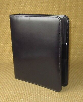 Classic Franklin Coveyquest Black Sim. Leather 1.5 Rings Open Plannerbinder