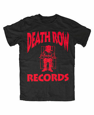 T-shirt Death Row Records Logo ASAP Tupac 2Pac Makaveli West Coast Hip Hop Tyga
