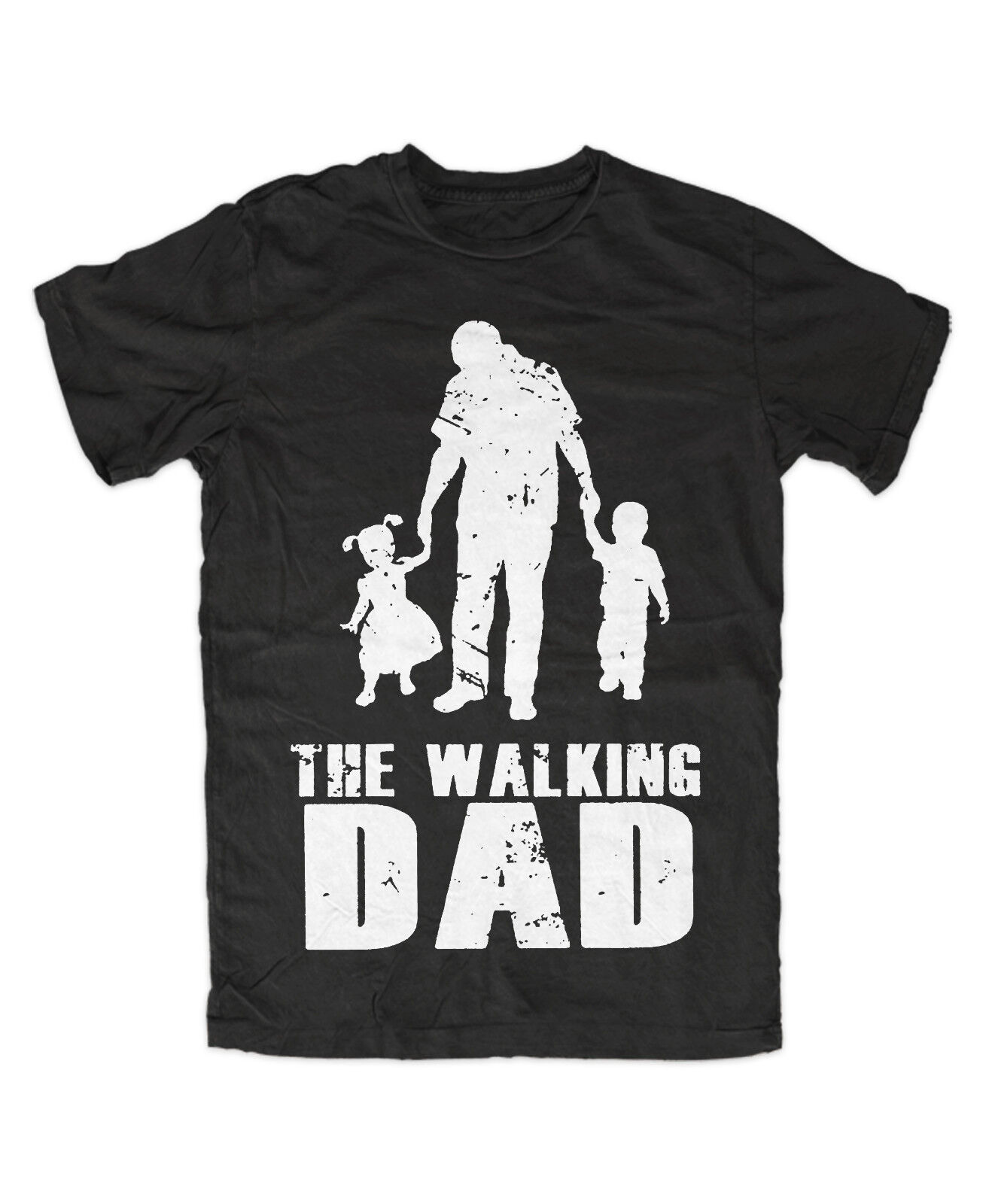 The Walking DAD T-Shirt Vater Spruch Fun Kult Familie PAPA Superheld