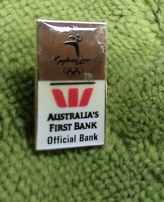 P279    Sydney 2000 Olympic Pin   Westpac Bank