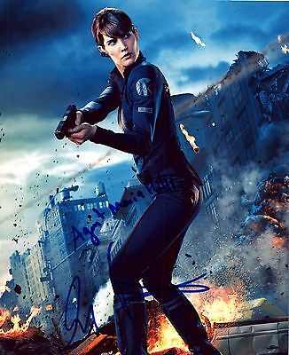 Cobie Smulders Authentic Hand Signed  Maria Hill   Avengers  8X10 Photo