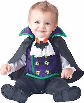 Count Dracula Halloween Costume (Incharacter Count Cutie Vampire Dracula Infant Baby Halloween Costume)