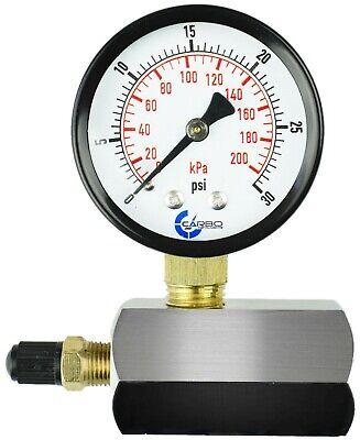Gas Test Pressure Gauge 30 Pound 30 Psi 100 Kpa 34 Fnpt Connection Assymbly