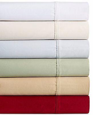 Bentley Collection Luxury Sateen 400 Thread Count QUEEN Sheet Set Red A519