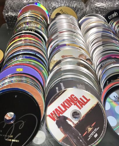 1000 + DVD CD GAME Lot Wholesale! Great For Personal Or Resale! BUY 3 Get 1 FREE