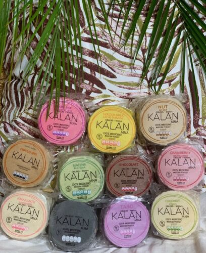 OBLEAS KALAN / KALAN WAFERS / CAJA CON 6 PAQUETES / BOX WITH 6 PACKAGES