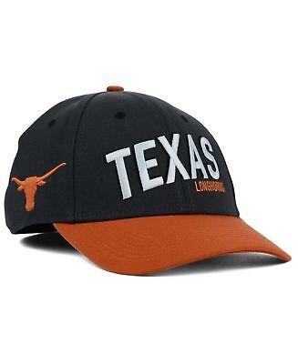 Texas Longhorn Hats (Nike University Of Texas Longhorns Best Legacy 91 NCAA Swoosh Flex Cap Hat)