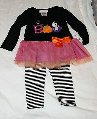 ädchen Bonnie Jean Halloween Outfit Geist Boo 12 18 24 (Halloween-outfit Kleinkind)