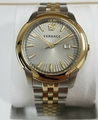 Versace VELQ00519 V-Urban Two-Tone Stainless Steel Men's Watch
