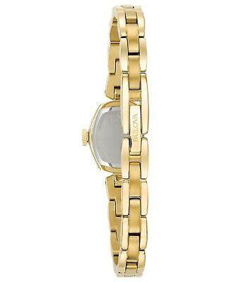 Bulova Women's 97L155 Quartz Champagne Dial Gold-Tone Bracelet 18mm Watch