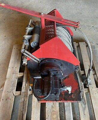 Dinamic Oil A120-4 Hydraulic Winch 300 X 58 Ss Cable Used