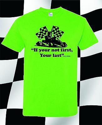 Talladega Racing Shirt - GO KART RACING T-SHIRT RICKY BOBBY KARTING RACE WKA FUNNY TEE TALLADEGA NIGHTS