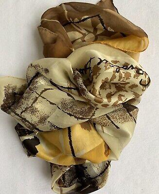 Vintage Scarf Styles -1920s to 1960s Caroline Biss vintage silk scarf $8.00 AT vintagedancer.com