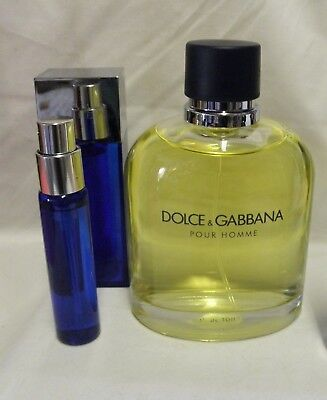DOLCE & GABBANA  1.5 OZ EDT SPRAY + CASE* PLS READ NOTE/DESCRIPTION