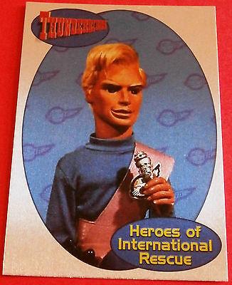 THUNDERBIRDS HEROES OF INTERNATIONAL RESCUE F9 - JOHN TRACY - Cards Inc. 2001