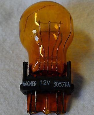 10 Stück Glühlampe USA 12V  2 Faden Gelb Blinker 3057 3057NA NEU Dodge GMC Ford