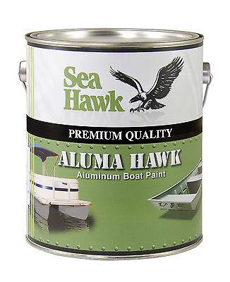 Aluma Hawk Boat Paint, Aluminum Grey, Gallon